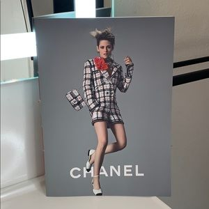 Authentic Chanel X Kristen Stewart Catalogue